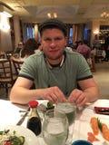 Instigateur Dmitriy Salita de boxe Photos libres de droits