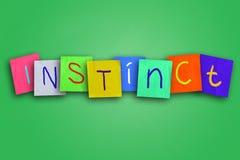 Instinct Concept Stock Images
