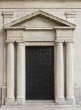 Institución financiera clásica foto de archivo