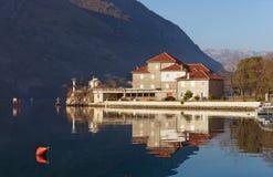 Institut av Marine Biology fjärdkotor montenegro Fotografering för Bildbyråer