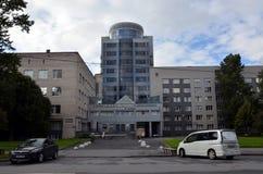 Institut av pediatrisk Hematology och Transplantology arkivbild