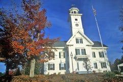 Institut charitable maçonnique, Effingham, NH sur l'itinéraire 153 Photographie stock libre de droits