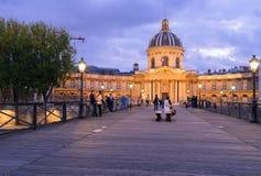 Institut de Γαλλία, Παρίσι Στοκ φωτογραφία με δικαίωμα ελεύθερης χρήσης