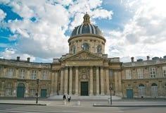 Institut de Γαλλία στο Παρίσι Στοκ Φωτογραφία