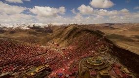 Institut de bouddhisme au Thibet photo libre de droits