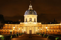The Institut de France building in Paris Stock Images