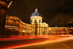 The Institut de France building in Paris Royalty Free Stock Photos