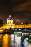 Institut de France building in Paris, France Stock Image