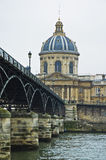 Institut de France at Paris, France Royalty Free Stock Image