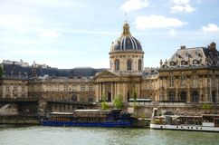 Institut de France in Paris Stock Photo