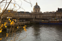 Institut de France in Paris. Stock Images