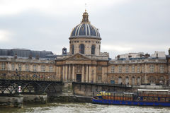 The Institut de French Academy in Paris Royalty Free Stock Photography
