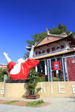 Institut de porcelaine de blanc chinois dans la ville amoy Photographie stock