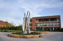 Institut de Technologie de Rochester, bâtiment de RIT University Images stock