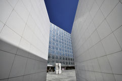 Institut du monde Arabe Paris, Royalty Free Stock Photo