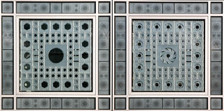 Institut du Monde Arabe in Paris Royalty Free Stock Photos