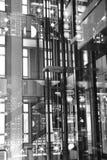 Institut du Monde Arabe reflexioner Arkivfoto