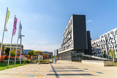 Institut für Statistiken und Mathematik von Wien-Universität Stockfotos
