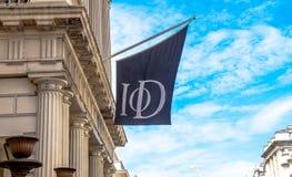 Institut von Direktoren (IoD) Restaurant, London lizenzfreie stockfotos