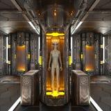 Institute. 3D CG rendering of a institute Stock Image