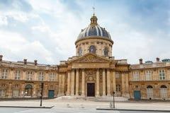 Institute de France in Paris Stock Image