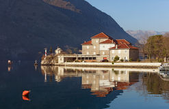 Institute of Marine Biology. Bay of Kotor, Montenegro Stock Image