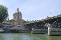Institute of Paris stock image