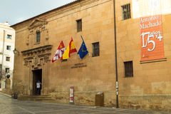 Institute of secondary education Antonio Machado Stock Photography