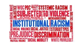 Institutional Racism Word Cloud