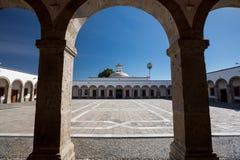 Instituto πολιτιστικό Cabanas, Γουαδαλαχάρα, Μεξικό Στοκ εικόνα με δικαίωμα ελεύθερης χρήσης