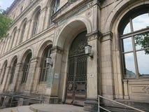 Instituto agrícola de la universidad de Humboldt, Berlín, Alemania foto de archivo libre de regalías