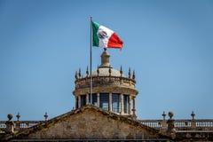 Instituto cultural das cabanas das cabanas de Hospicio - Guadalajara, Jalisco, México imagens de stock royalty free
