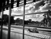 Instituto cultural Olhar artístico em preto e branco Fotografia de Stock