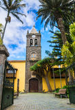 Instituto de Canarias in San Cristobal de la Laguna, Tenerife, C. Anary Islands. Spain Royalty Free Stock Photo