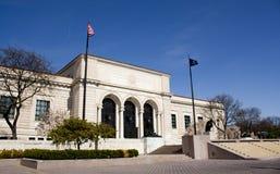 Instituto de Detroit das artes imagem de stock