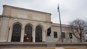 Instituto de Detroit de artes Fotos de archivo libres de regalías