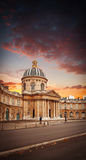 Instituto de França em Paris Fotos de Stock