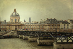 Instituto de França, Paris Imagens de Stock