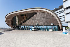 Instituto de Masdar em Abu Dhabi Imagens de Stock
