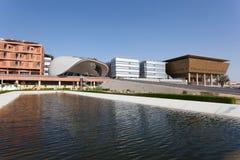 Instituto de Masdar en Abu Dhabi Fotos de archivo