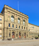 Instituto de Tecnología federal suizo en el edificio de Zurich Imágenes de archivo libres de regalías