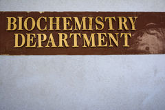 Instituto di biochimica fotografie stock