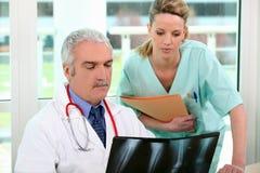 Instituto di radiologia in ospedale Immagine Stock