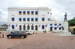 Instituto National de Cultura  in the historic district Casco Vi. Panama City, Panama - November 3, 2017: National Institute of culture Instituto National de Stock Photography
