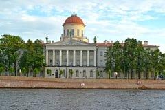 Instituut van de Russische literatuur & x28; Pushkin house& x29; St Petersburg stock afbeeldingen