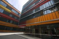 Instituut van moleculaire biologie en biochemie, Graz, Oostenrijk, Europa, Juni 2017 stock foto's