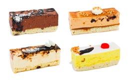 inställda cakes Royaltyfri Fotografi