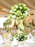 inställningstabellbröllop Royaltyfria Bilder
