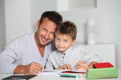Instrução das crianças imagens de stock royalty free