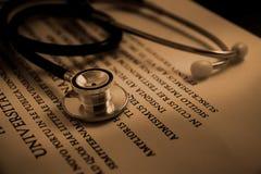 Instrução médica Imagem de Stock